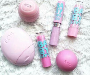 eos, pink, and baby lips image