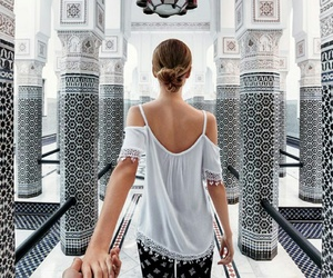 travel, couple, and marrakech image