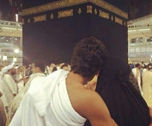 islam, couple, and mecca image
