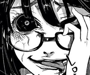 anime, horror, and manga image