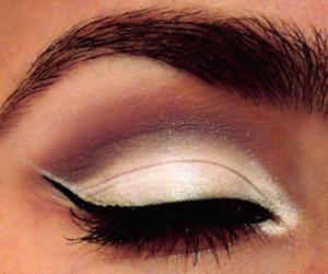 aubergine, eye, and eyebrows image