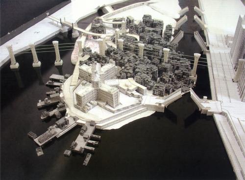 architecture, Arkham Asylum, and batman image