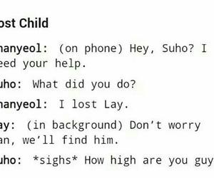 exo, lay, and chanyeol image