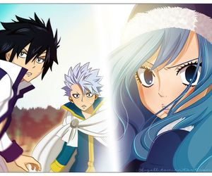 gray, lyon, and fairy tail image