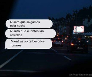 frases, night, and stars image
