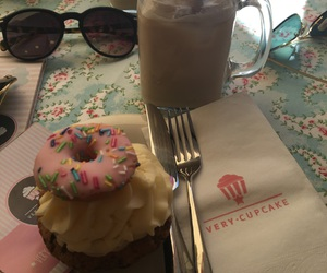 coffee, cupcake, and delicious image