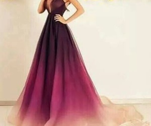 Dress Pink And Purple Image