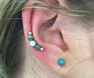 aesthetic, earrings, and grunge image