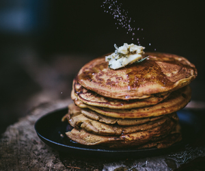 pancakes, food, and autumn image