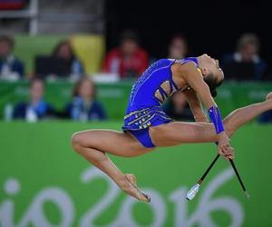 clubs, ukraine, and rhytmic gymnastic image