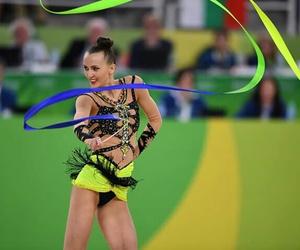 ribbon, ukraine, and rhytmic gymnastic image