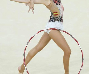 hoop, rhytmic gymnastic, and rio 2016 image