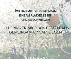 deutsch, einsam, and Lyrics image