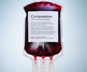 compassion and blood image