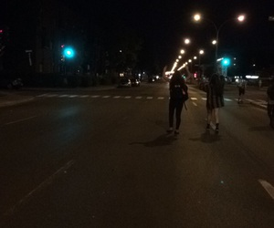 nights, street, and friends image