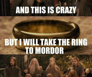 funny and LOTR image