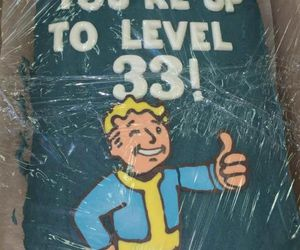 birthday, cake, and fallout image