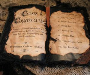 book, harry potter, and curses & counter-curses image