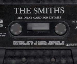 the smiths, music, and cassette image