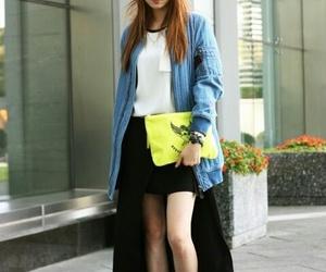 actress, yg, and k fashion image