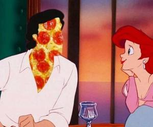 ariel and pizza image