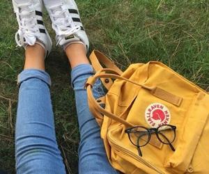 yellow, adidas, and tumblr image