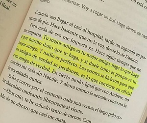 book, frases, and friendship image