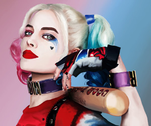 suicide squad, harley quinn, and photoshop image