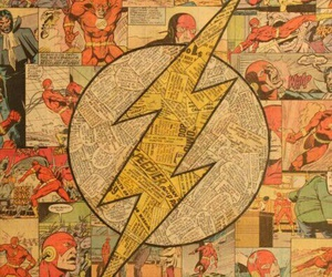 flash, comic, and wallpaper image