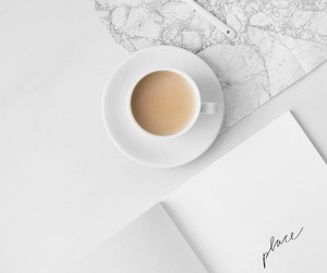 coffee, minimalist, and white image