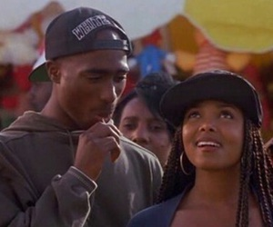 poetic justice, janet jackson, and 2pac image