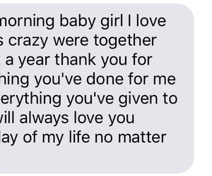 boyfriend, love, and cute morning texts image