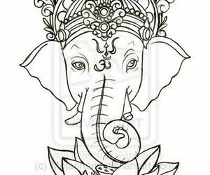 elephant and Ganesha image