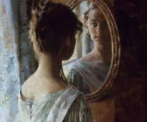 art, painting, and strange image