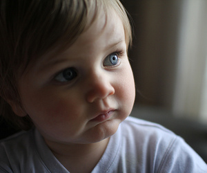 baby, blue eyes, and beth image