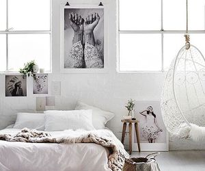 home, bedroom, and white image