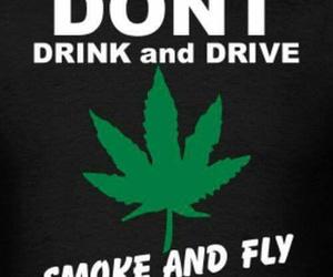 fly, smoke, and weed image