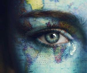 eye, art, and world image