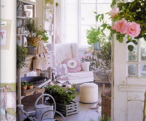 cottage and shabby chic image