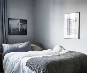 art, blue, and bedroom image