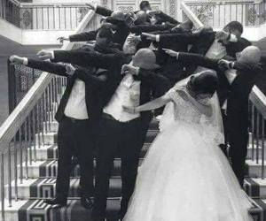 wedding, dab, and goals image