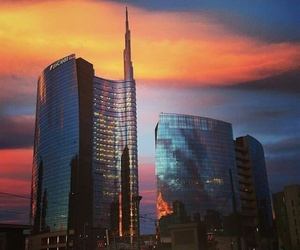 colour, milan, and evening image