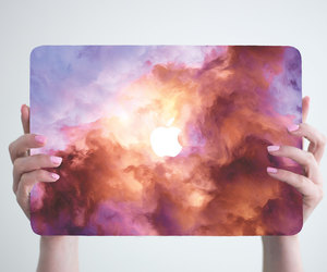 apple, art, and laptop image