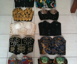 fashion, clothes, and bustier image
