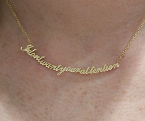 gold and necklace image