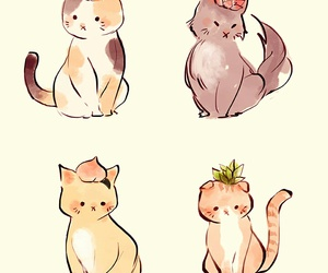 cats, draws, and tumblr image