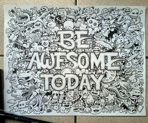 awesome, drawing, and art image