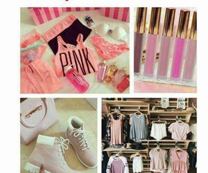 adore, pink, and cute image