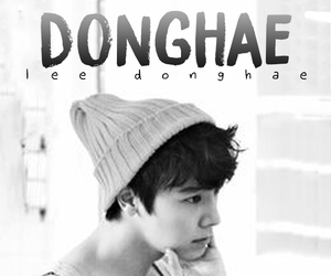 black, donghae, and edit image