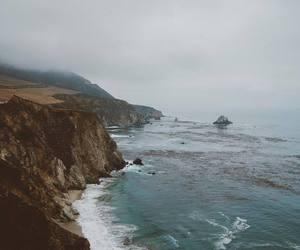 landscape, ocean, and travel image